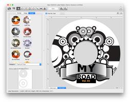 Mac CD/DVD Label Maker screenshot 7