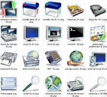 Pack 3D Icons screenshot 2