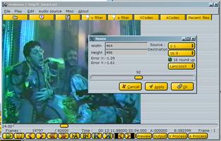 Avidemux screenshot 2