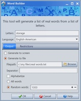 Random Word Generator screenshot 2