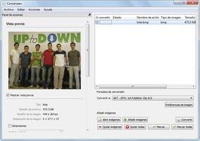 Converseen screenshot 5