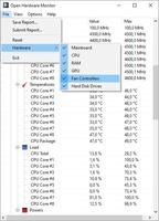 Open Hardware Monitor screenshot 3
