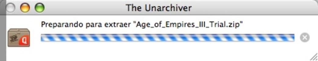The Unarchiver screenshot 5