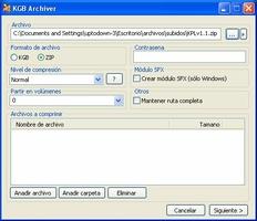 KGB Archiver screenshot 3
