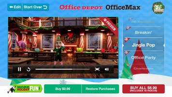 ElfYourself by Office Depot screenshot 3