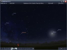 Stellarium Portable screenshot 2