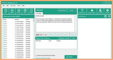 Whatso - WhatsApp Marketing Software screenshot 2