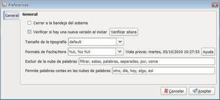RedNotebook screenshot 5