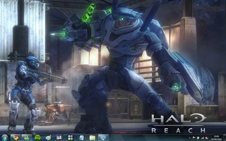 Halo: Reach Windows 7 Theme screenshot 5