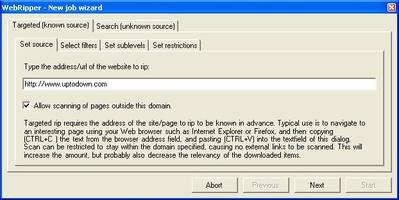 WebRipper screenshot 4