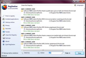 RegSeeker screenshot 3