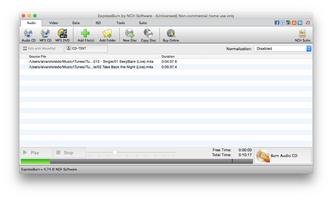 Express Burn CD and DVD Burner for Mac screenshot 3