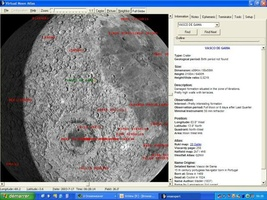 Virtual Moon Atlas screenshot 2