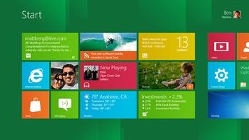 Windows 8 (64 bits) screenshot 2