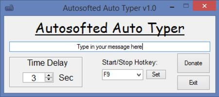 Auto Typer screenshot 2