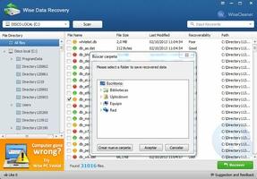 Wise Data Recovery screenshot 4