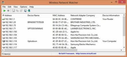 Wireless Network Watcher screenshot 3