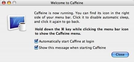 Caffeine screenshot 2