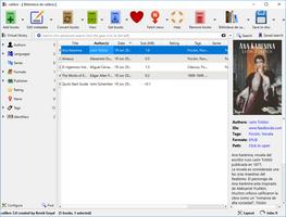 Calibre screenshot 2