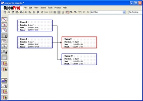 OpenProj screenshot 3