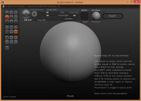 Sculptris screenshot 5
