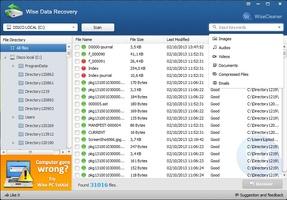 Wise Data Recovery screenshot 5