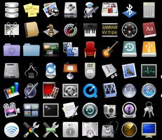 Official MacOSX Leopard Icon Pack screenshot 2