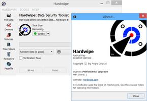 Hardwipe screenshot 2