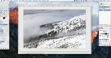 GIMP screenshot 5