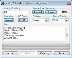 Autotune screenshot 3