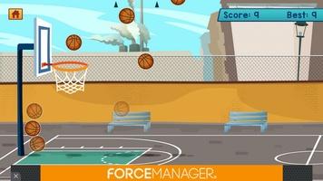 Basketball Bubble Toss Burst Free Mega Super Games screenshot 6