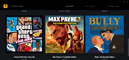 Rockstar Games Launcher screenshot 2