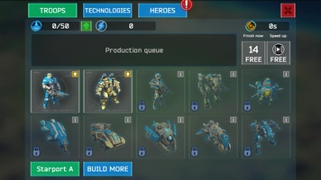 Battle for the Galaxy screenshot 7