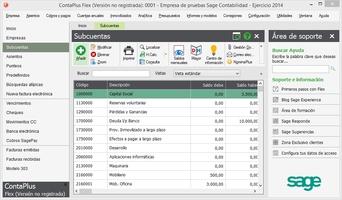 Sage ContaPlus Flex screenshot 8