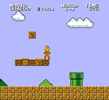 Super Mario Bros Level 1-1 screenshot 2