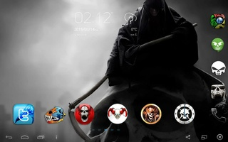 Skull Theme screenshot 7