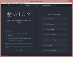 Atom screenshot 2