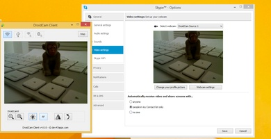 DroidCam screenshot 5