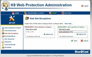 K9 Web Protection screenshot 4