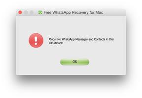 WhatsApp Recovery screenshot 4