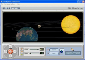 Solar System 3D Simulator screenshot 2