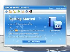 PDF To Word Converter screenshot 2