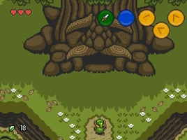 The Legend of Zelda: Ocarina of Time 2D screenshot 2