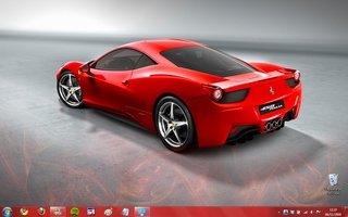 Ferrari Windows 7 Theme screenshot 4
