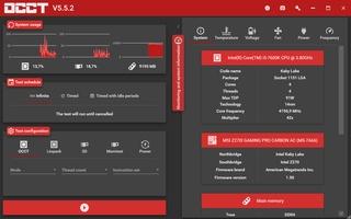 OCCT: OverClock Checking Tool screenshot 7