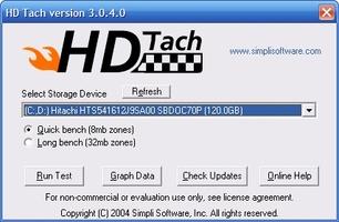 HD Tach screenshot 4