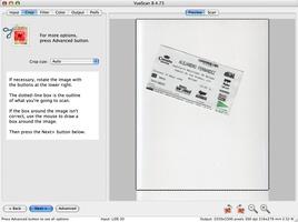 VueScan screenshot 2
