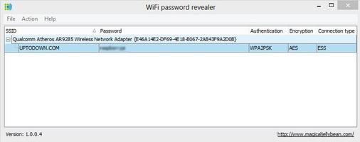 WiFi password revealer screenshot 2