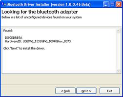 Bluetooth Driver Installer screenshot 3