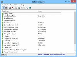 BatteryInfoView screenshot 3